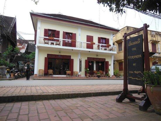 Villa Nagara:                                     the villa