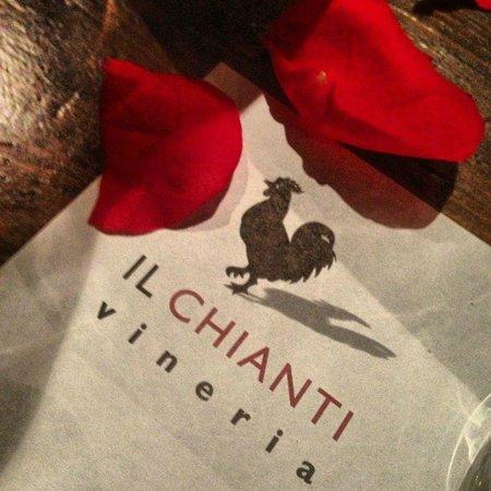 Vineria Il Chianti:                   menü