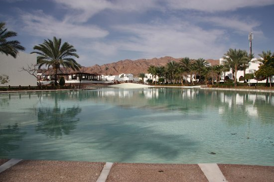 Dahab Resort:                                     Not a swimming pool
