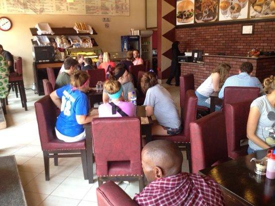 Cafe Barrista: enjoying