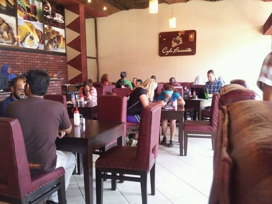 Cafe Barrista : all busy with wifi