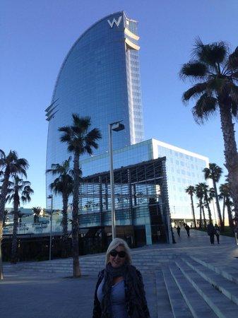 W Barcelona :                   First approach