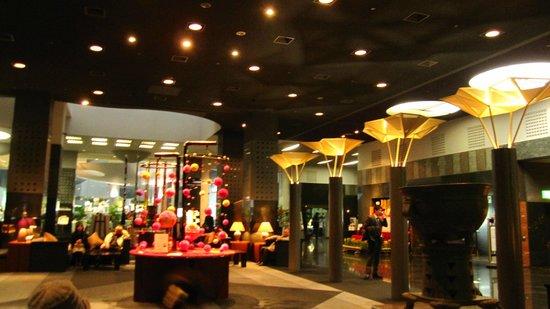 Hotel Granvia Kyoto:                   ロビー