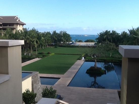 The Ritz-Carlton Sanya Yalong Bay:                   Great view