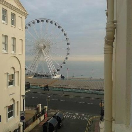 Amsterdam Hotel Brighton :                   Room with a View