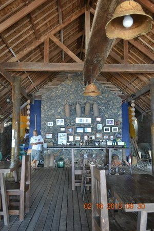 Balai Resort Anilao:                   Dining area