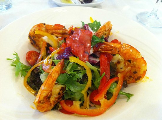 Barcelo Eresin Topkapi:                   prawn salad