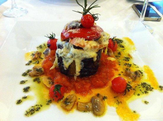 Eresin Hotels Topkapi:                   veggy lasagna