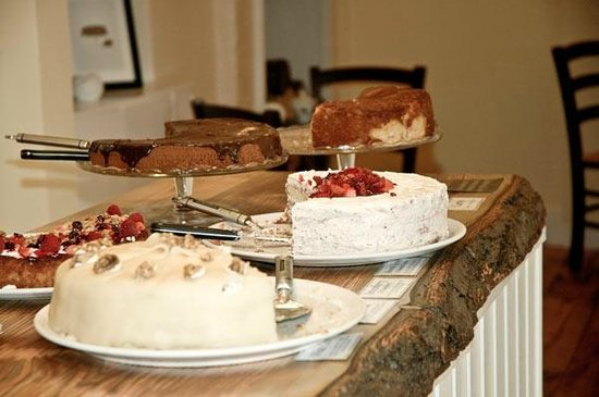 The Potting Shed: Some of our cream cakes