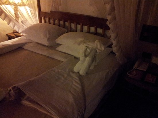 Orange County Resorts Kabini:                   when u return ur room and u may find a elephant on ur bed