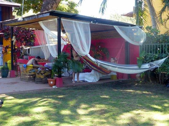 Hotel Villa Amarilla:                   Lounge area