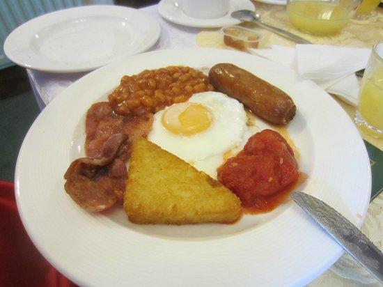 New Osborne Hotel:                   Brilliant full English breakfast