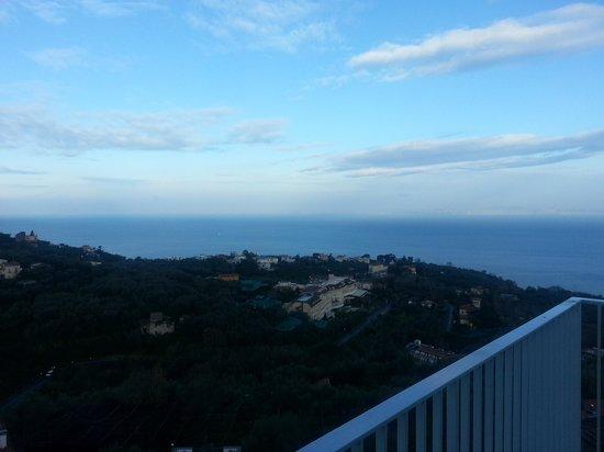 Grand Hotel Aminta:                   la vista dal nostro balcone
