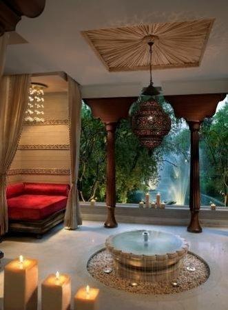 ITC Mughal, Agra: Spa interiors !!