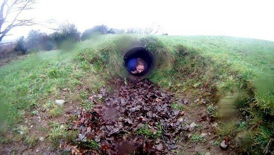 Eclipse Ireland Adventure and Equestrian Centre:                                     Assault Course tunnel