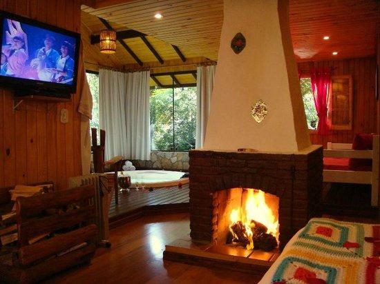 Cabana Splendore ( Dormitório c/ lareira ) (58776486)