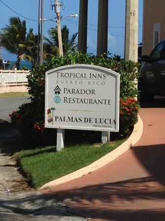 Parador Palmas De Lucia:                   Entrada/Entrance