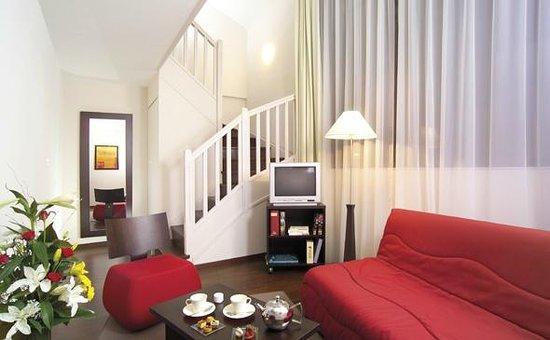 Appart'City Confort Lyon Part-Dieu : Park&Suites Prestige Lyon Part Dieu - Duplex Apartment