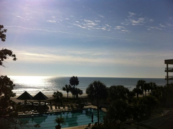 Hilton Head Marriott Resort & Spa:                   View from our room