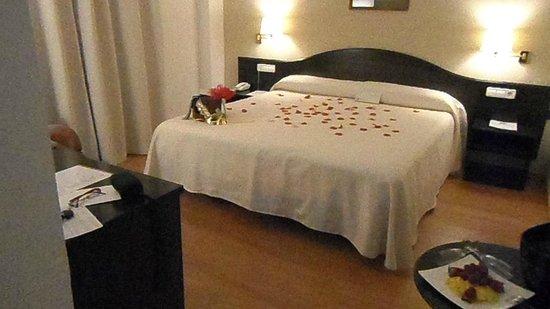 Decoracion Romantica Habitacion ~ Espectacular noche desde Hotel Villa de Biar Picture of Villa de Biar