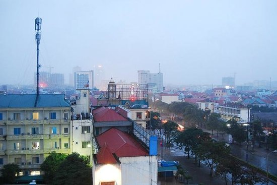 Huu Nghi Hotel: View from Room 603