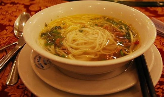 Huu Nghi Hotel: Breakfast - included in room price - good selection of Vietnamese foods