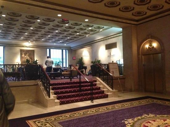 The Roosevelt Hotel:                   lobby