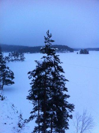 Roemskog Spa & Resort:                   utsikt fra suiten