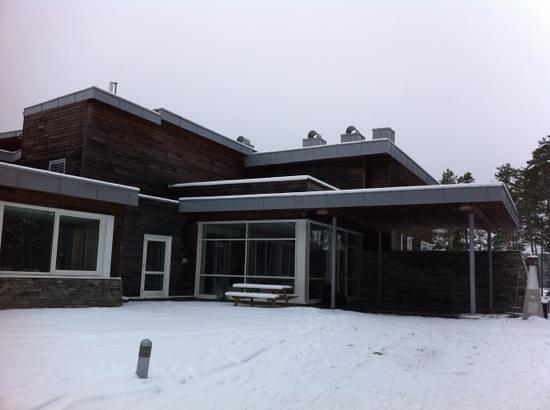 Roemskog Spa & Resort:                   inngangen til hotellet