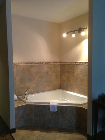 Comfort Suites Cicero - Syracuse North : Two Person Jacuzzi Tub