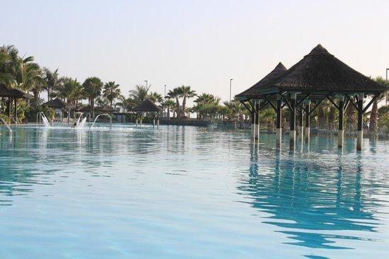 Gran Melia Palacio de Isora Resort & Spa: piscina de agua salada