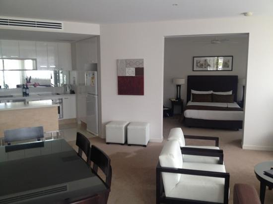 Grand Mercure Allegra Hervey Bay:                   sleek, clean, modern, spacious