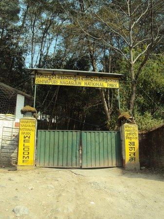 Shivapuri Nagarjun National Park :                   Entrance Gate