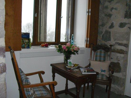 Dornroeschenschloss Sababurg:                   Sitzecke