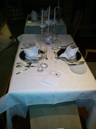 Dornroeschenschloss Sababurg:                   Candle light dinner