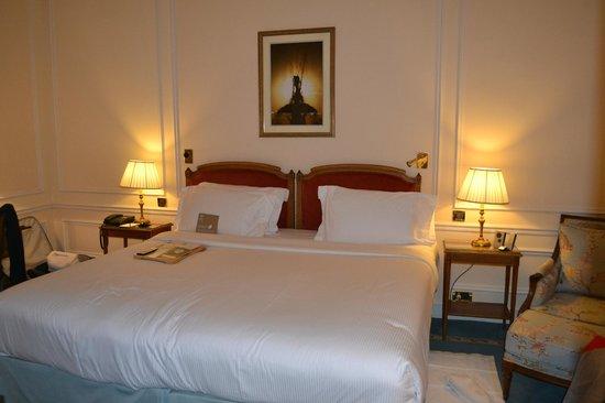 Hotel de Crillon:                                     la chambre supérieure