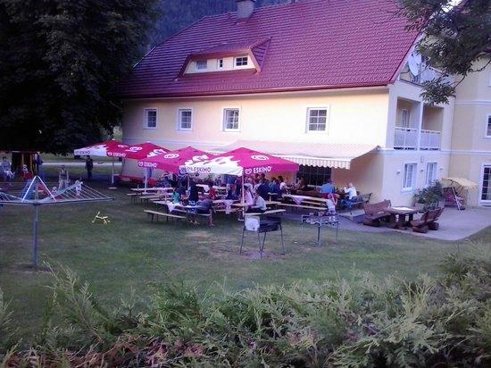 Ferien am Talhof:                   Talhof - gezellige grilavond