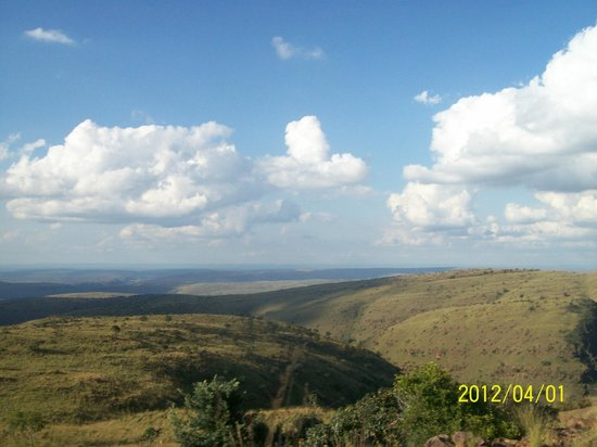 Marakele National Park: view from the top