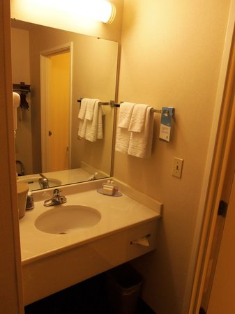 Fairfield Inn & Suites Traverse City: sink area