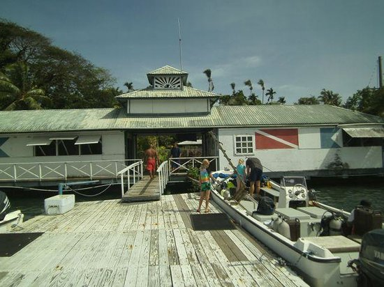 Yap Pacific Dive Resort:                   Dive Locker