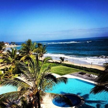 LG Surf Camp:                   amazing view from the penthouse