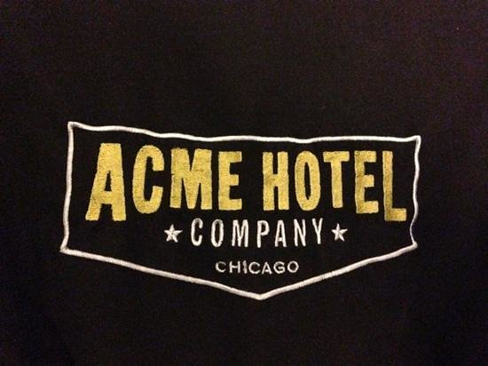 ACME Hotel Company Chicago:                   You even get robes!