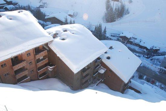 Residence CGH Le Village de Lessy:                                     Vue de la terrasse Appartement K13