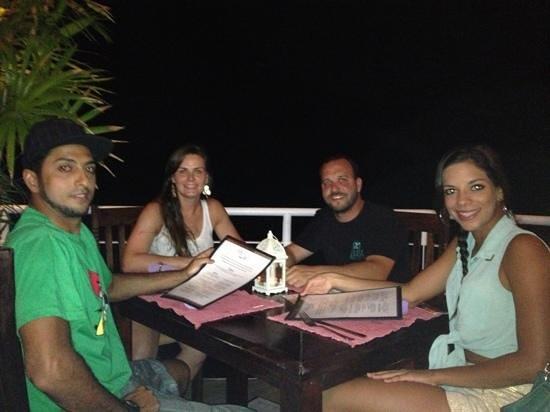 The Papaya Lounge Restaurant:                   Despedida deste paraíso!!!