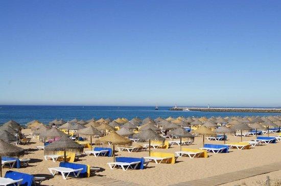 Dom Pedro Vilamoura:                   океан и пляж
