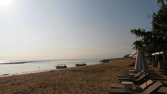 Segara Village Hotel:                   beach