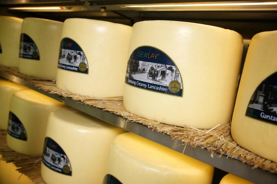 Garstang, UK: Traditional Creamy Lancashire