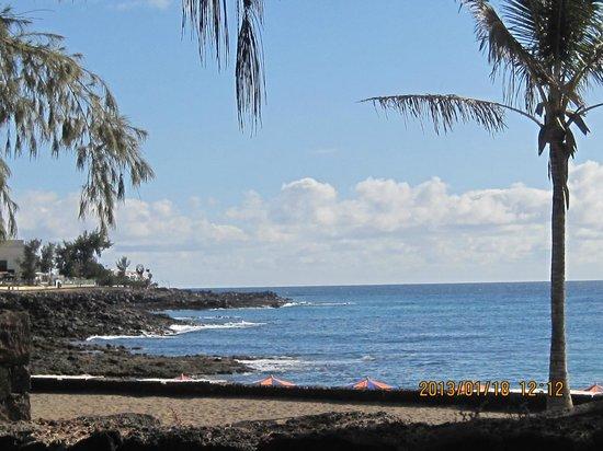 Hotel Coronas Playa:                   view from Hotel grounds
