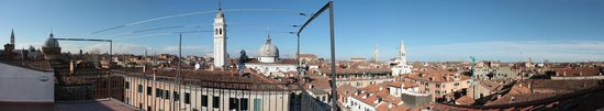 Bed & Venice: View from the rooftop terrace