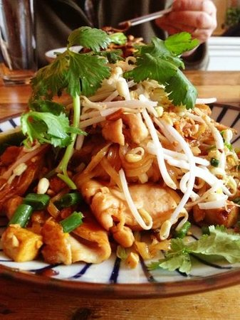 Long Grain:                   Delightful Pad Thai